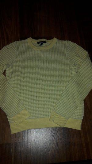 Gant Maglione twin set grigio chiaro-giallo pallido