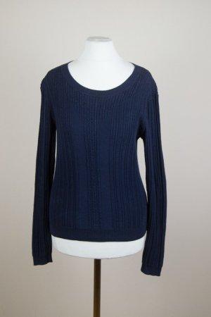 Gant Pullover Gr. S dunkelblau marine