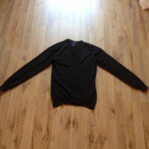 Gant Pullover Schurwolle schwarz