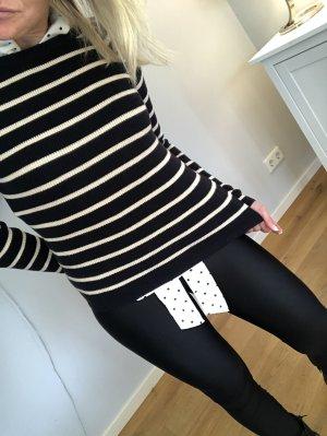 Gant Wool Sweater black-white wool