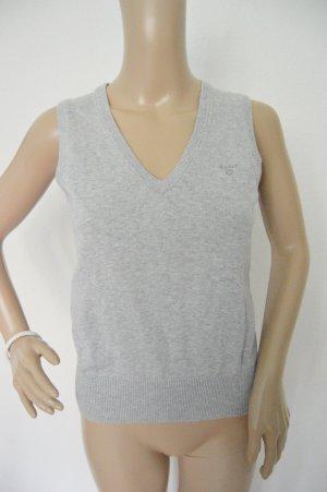 Gant Slipover lichtgrijs-grijs