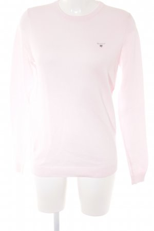 Gant Rundhalspullover rosa Casual-Look