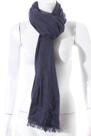 Gant Schal dunkelblau schlichter Stil