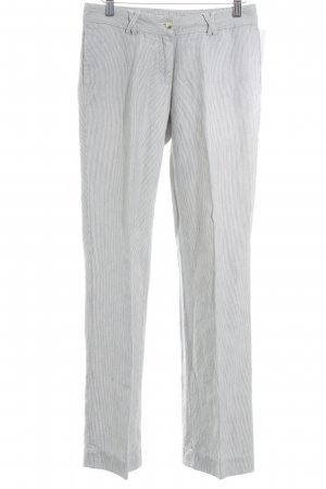 Gant Flares natural white-dark blue pinstripe athletic style