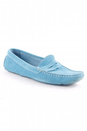 Gant Slip-on Shoes turquoise casual look