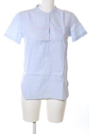 Gant Schlupf-Bluse blau Casual-Look