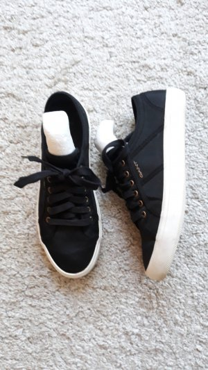 Gant Lace-Up Sneaker black linen