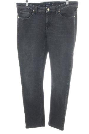 Gant Slim Jeans anthrazit-dunkelgrau Jeans-Optik