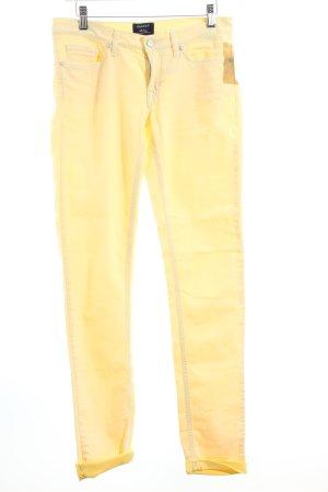 Gant Slim Jeans blassgelb schlichter Stil