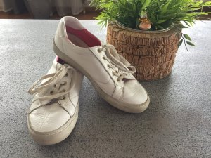 Gant Sneaker Weiß Gr. 38 Echt Leder
