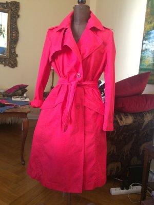 Gant Sommertrenchcoat rot in Gr. L im Vintage-Stil