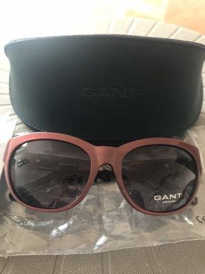 Gant Occhiale stile retro marrone-rosso