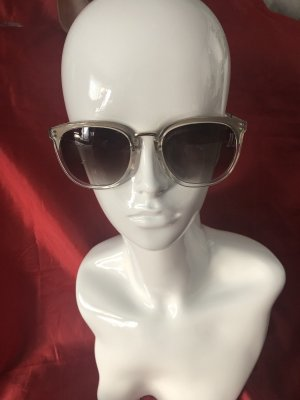 Gant Occhiale da sole spigoloso oro-crema Materiale sintetico