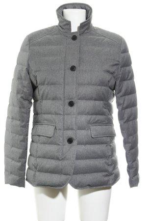 Gant Veste matelassée gris motif de courtepointe style simple