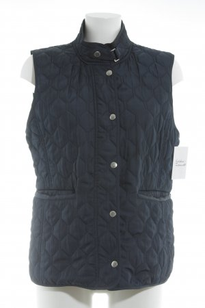 Gant Quilted Gilet dark blue simple style