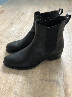 Gant Bottines à enfiler noir cuir