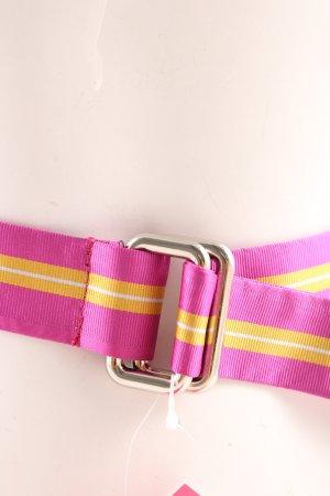 Gant Stoffgürtel pink-blassgelb Casual-Look