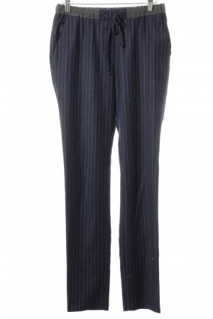Gant Jersey Pants dark blue-natural white striped pattern casual look