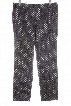 Gant Jersey Pants white-dark blue spot pattern casual look