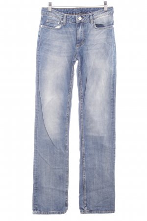 Gant Straight-Leg Jeans blau Bleached-Optik