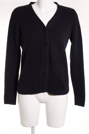Gant Strick Cardigan dunkelblau Casual-Look