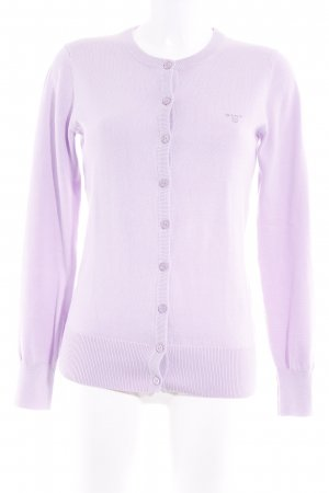 Gant Knitted Cardigan lilac casual look
