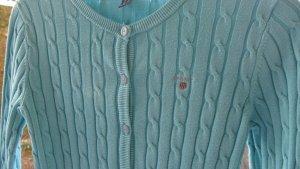 Gant Strickjacke azurblau Größe XS 34