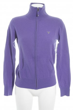 Gant Cardigan blue violet casual look