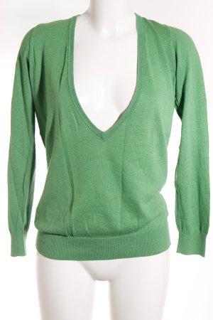 Gant Strickpullover grün klassischer Stil