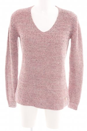 Gant Knitted Sweater pink flecked casual look