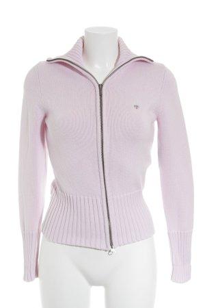 Gant Strickpullover rosa klassischer Stil