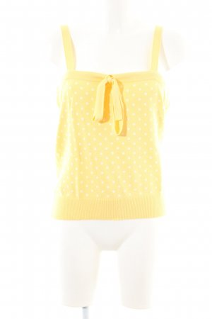 Gant Knitted Top primrose-white allover print casual look