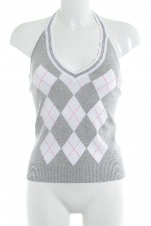 Gant Knitted Top check pattern casual look