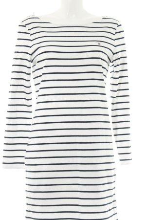 Gant Sweat Dress white-black striped pattern casual look