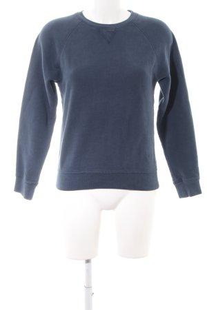 Gant Sweatshirt blau Casual-Look