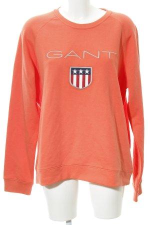 Gant Sweatshirt neonorange Casual-Look