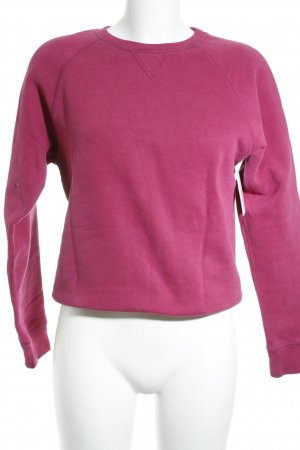 Gant Sweatshirt violett Casual-Look