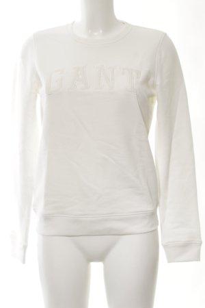 Gant Sweatshirt weiß Casual-Look