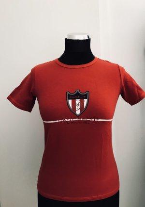 Gant Boothalsshirt rood