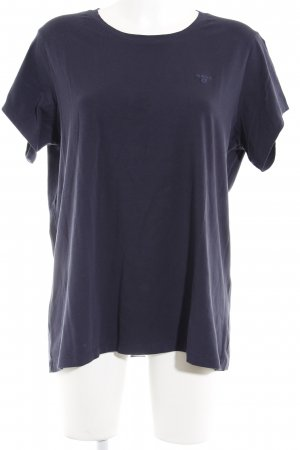 Gant T-Shirt dunkelblau Casual-Look