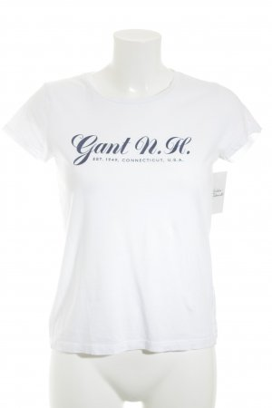 Gant T-Shirt weiß Casual-Look
