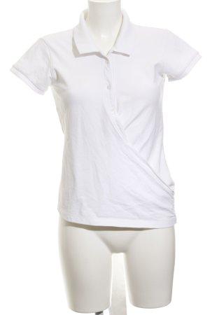 Gant T-Shirt wollweiß Bänderverzierung