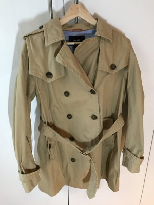 Gant Trench Coat sand brown cotton