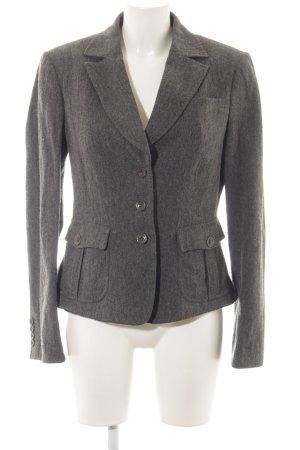 Gant Tweed blazer grijs gestippeld
