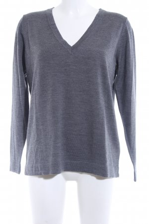 Gant V-Neck Sweater grey casual look