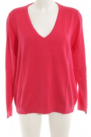 Gant V-Neck Sweater red casual look
