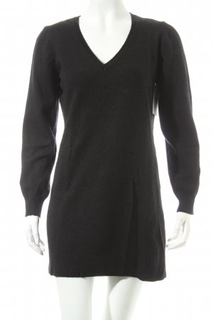 Gant V-Neck Sweater black simple style