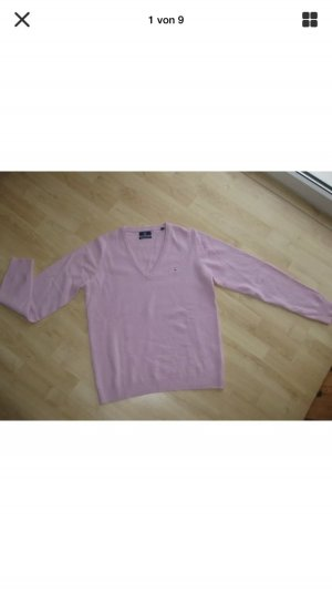 Gant V-Pullover rosa Gr M