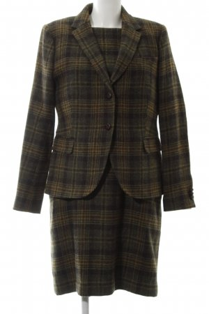 Gant Woven Twin Set khaki check pattern vintage look