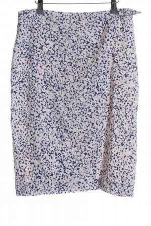 Gant Wraparound Skirt natural white-blue allover print casual look